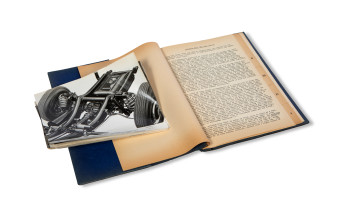 mercedes-benz-press-information-packet-with-photographs-1952