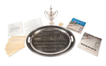 significant-items-from-phil-hills-victory-with-ferrari-at-the-1958-12-hours-of-sebring
