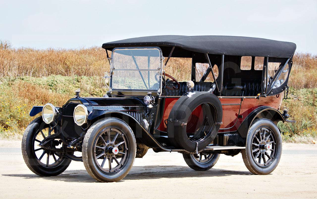 1914 Packard 3-48 Seven-Passenger Touring-2
