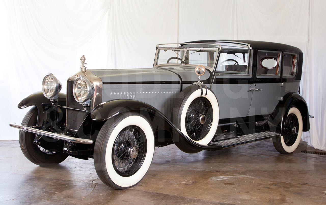 1929 Minerva Model AK Town Car