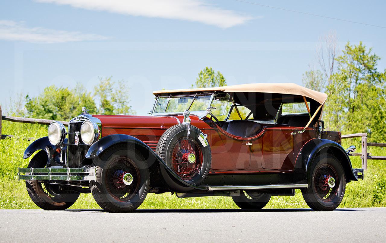1929 Stutz Series M Tonneau Cowl Speedster