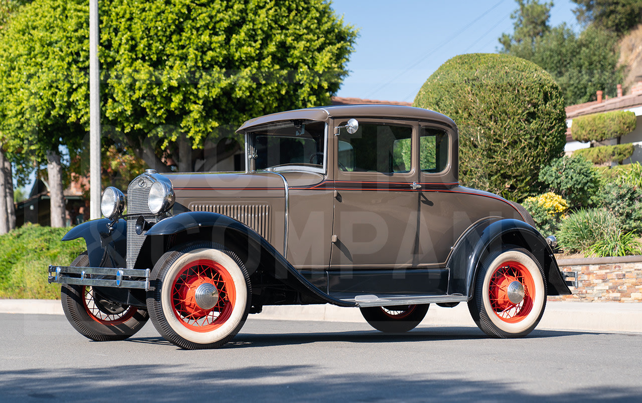 1930 Ford Model A Five-Window Coupe