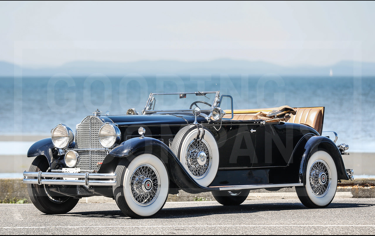 1930 Packard 740 Custom Eight Roadster