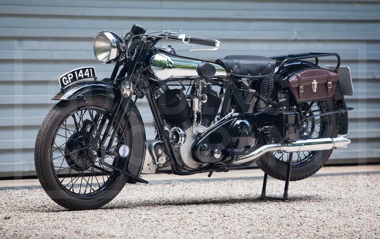 1931 Brough Superior SS80