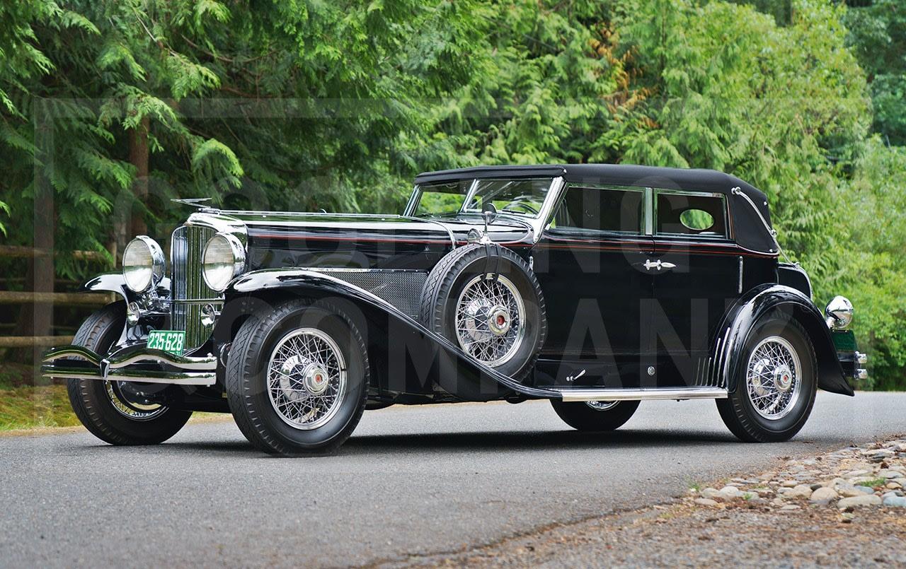 1931 Duesenberg Model J Convertible Sedan