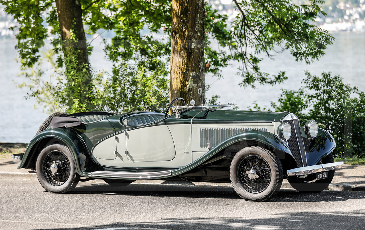1934 Lancia Astura Gran Sport Torpédo