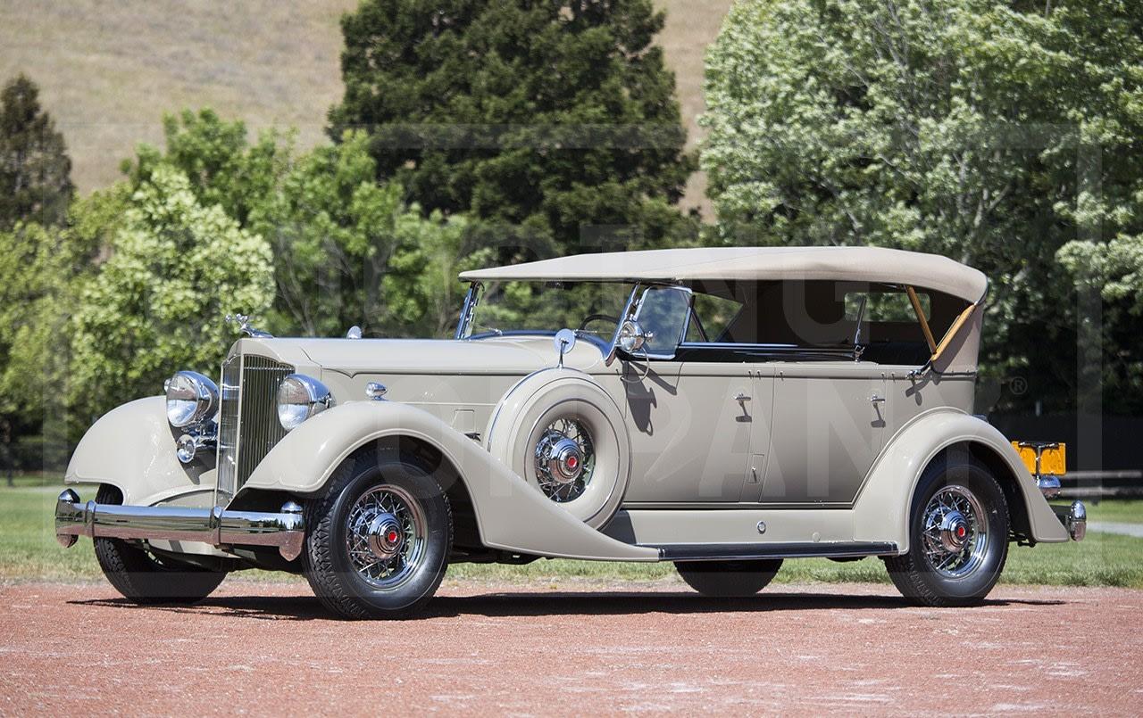 1934 Packard Super Eight 1104 Dual Cowl Sport Phaeton