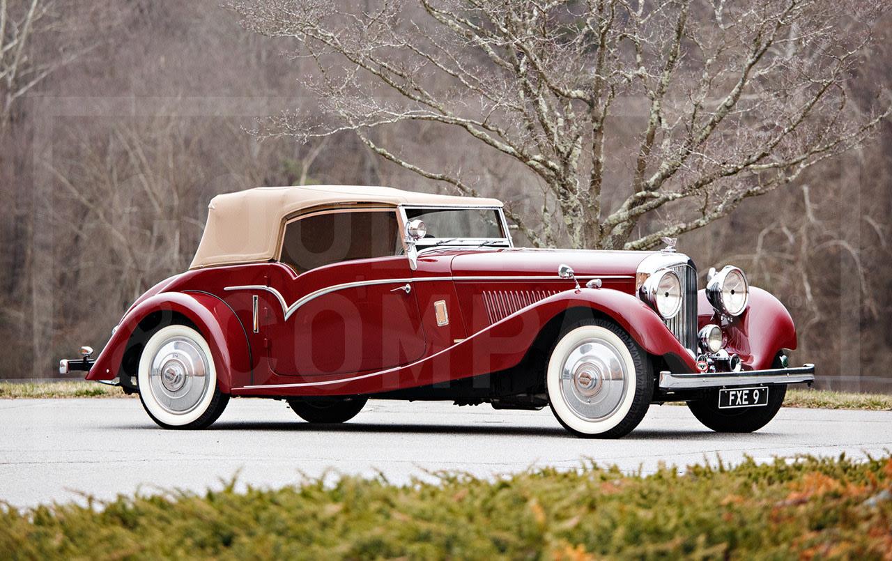 1935 Bentley 3 1/2 Litre Drophead Coupe