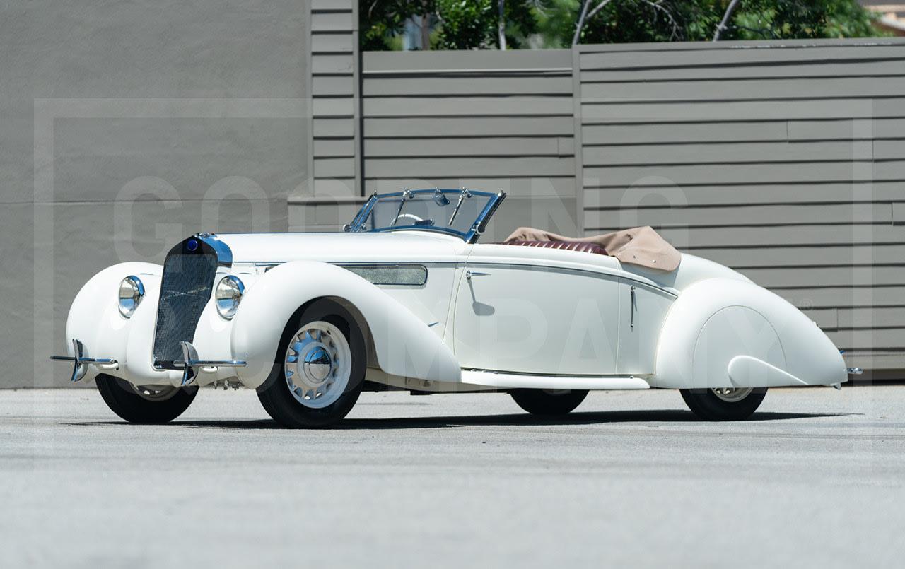 1937 Delage D6-70 Cabriolet