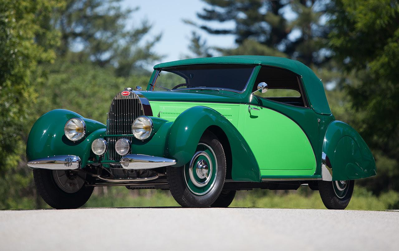 1938 Bugatti Type 57 Cabriolet