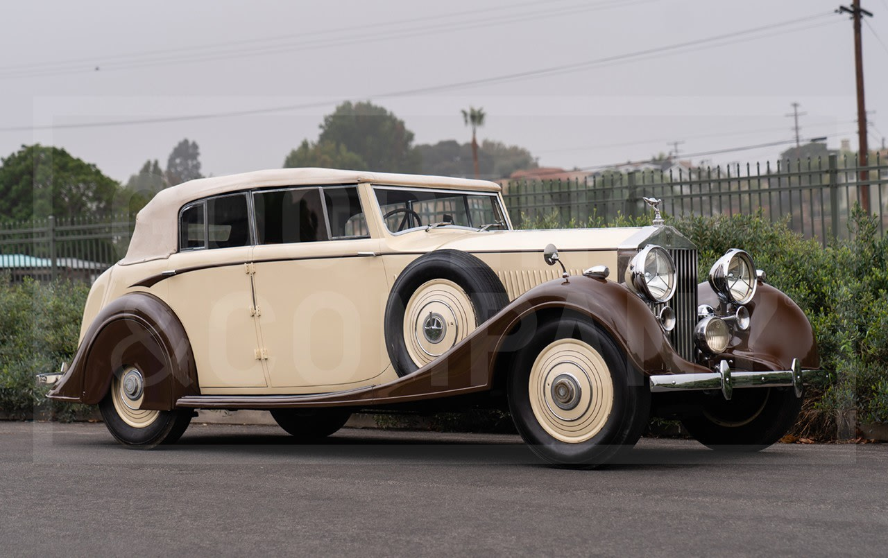 1938 Rolls-Royce 25/30 All-Weather Cabriolet