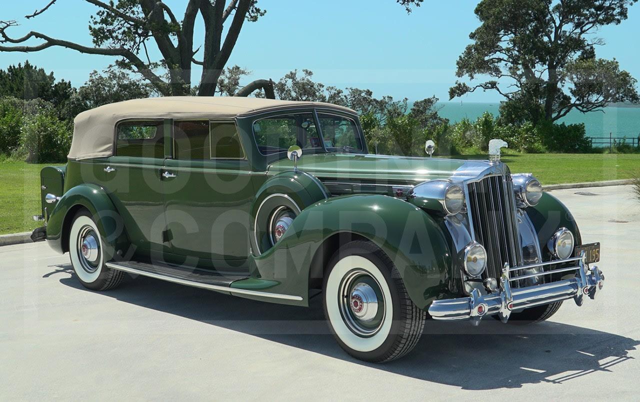 1939 Packard Twelve 1708 Convertible Sedan