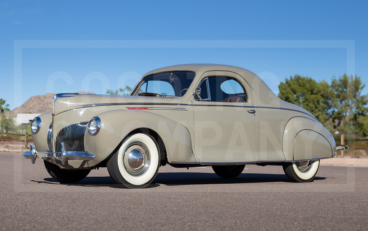 1940 Lincoln Zephyr Three-Window Coupe