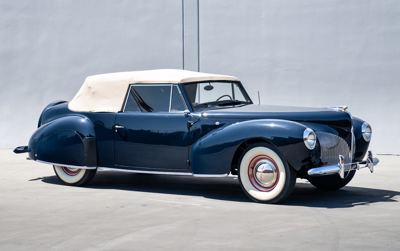1940 Lincoln-Zephyr Continental Convertible