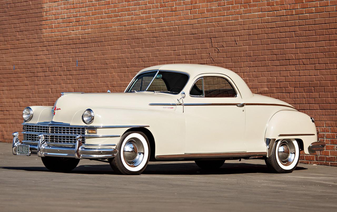 1948 Chrysler New Yorker Three-Passenger Business Coupe