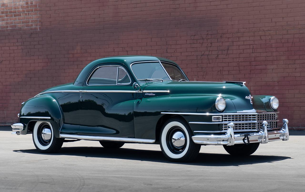 1948 Chrysler Windsor Three-Passenger Business Coupe