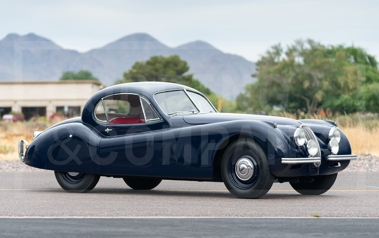 1952 Jaguar XK120 Fixed Head Coupe-7