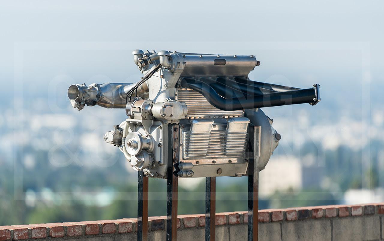 1954 Offenhauser 180 Racing Engine