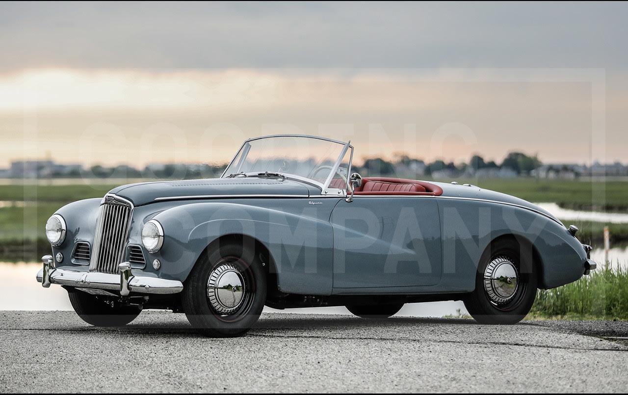 1955 Sunbeam-Talbot Alpine Mark III