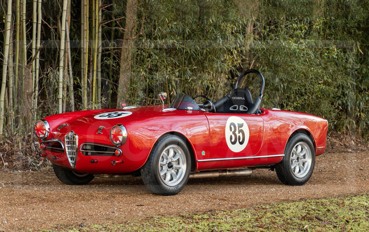 1956 Alfa Romeo Giulietta Spider Veloce