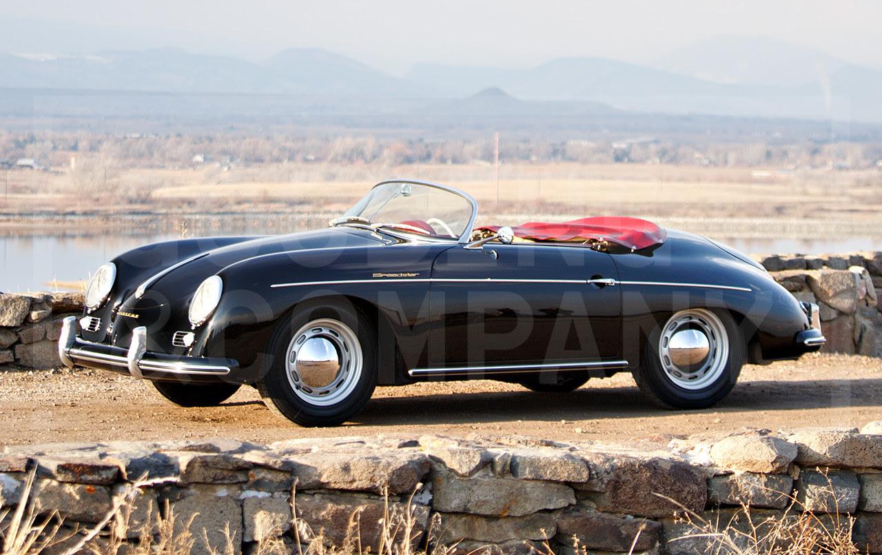 1956 Porsche 356 A Speedster-2
