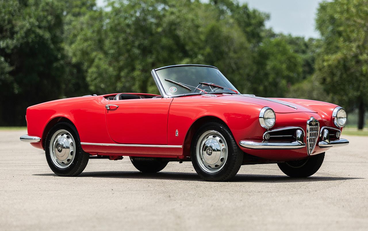 1958 Alfa Romeo Giulietta Spider Veloce