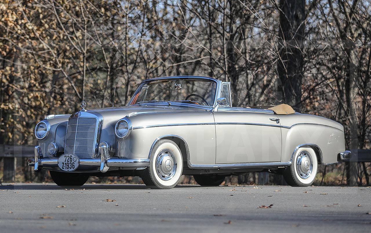 1958 Mercedes-Benz 220 S Cabriolet