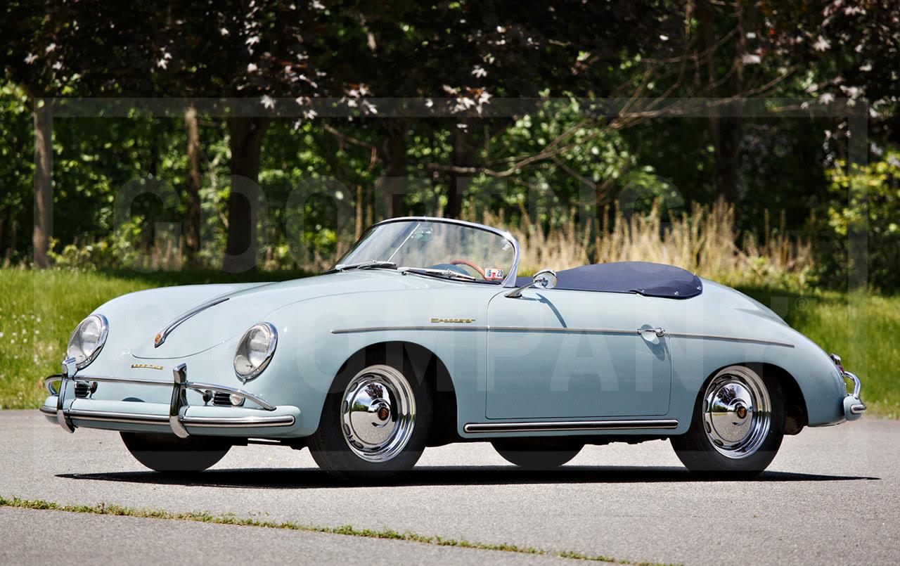 1958 Porsche 356 A Speedster-2