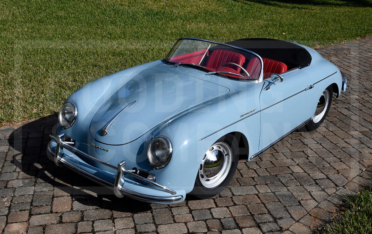 1958 Porsche 356 A Speedster-3