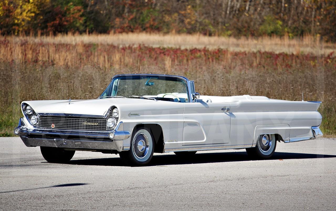 1959 Lincoln Continental Mark IV Convertible-2