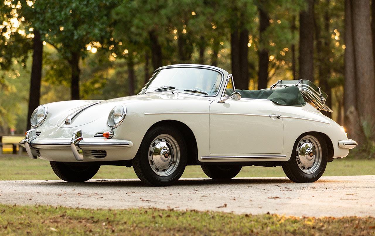 1961 Porsche 356 B Cabriolet