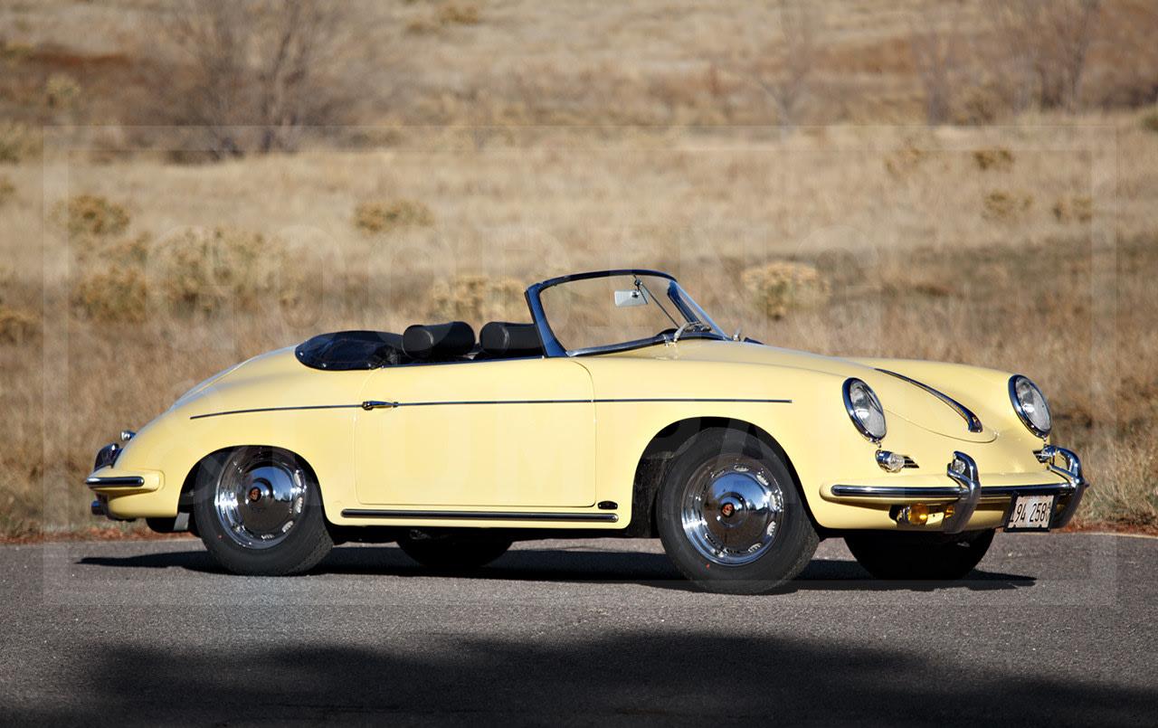 1961 Porsche 356 B Super 90 Roadster