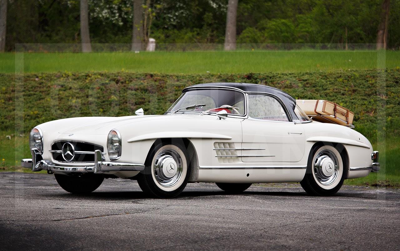 1963 Mercedes-Benz 300 SL Roadster-2