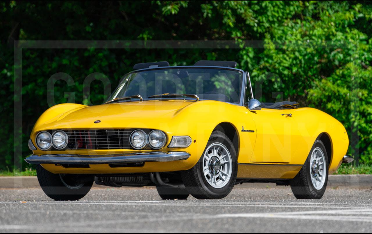 1967 Fiat Dino 2000 Spider