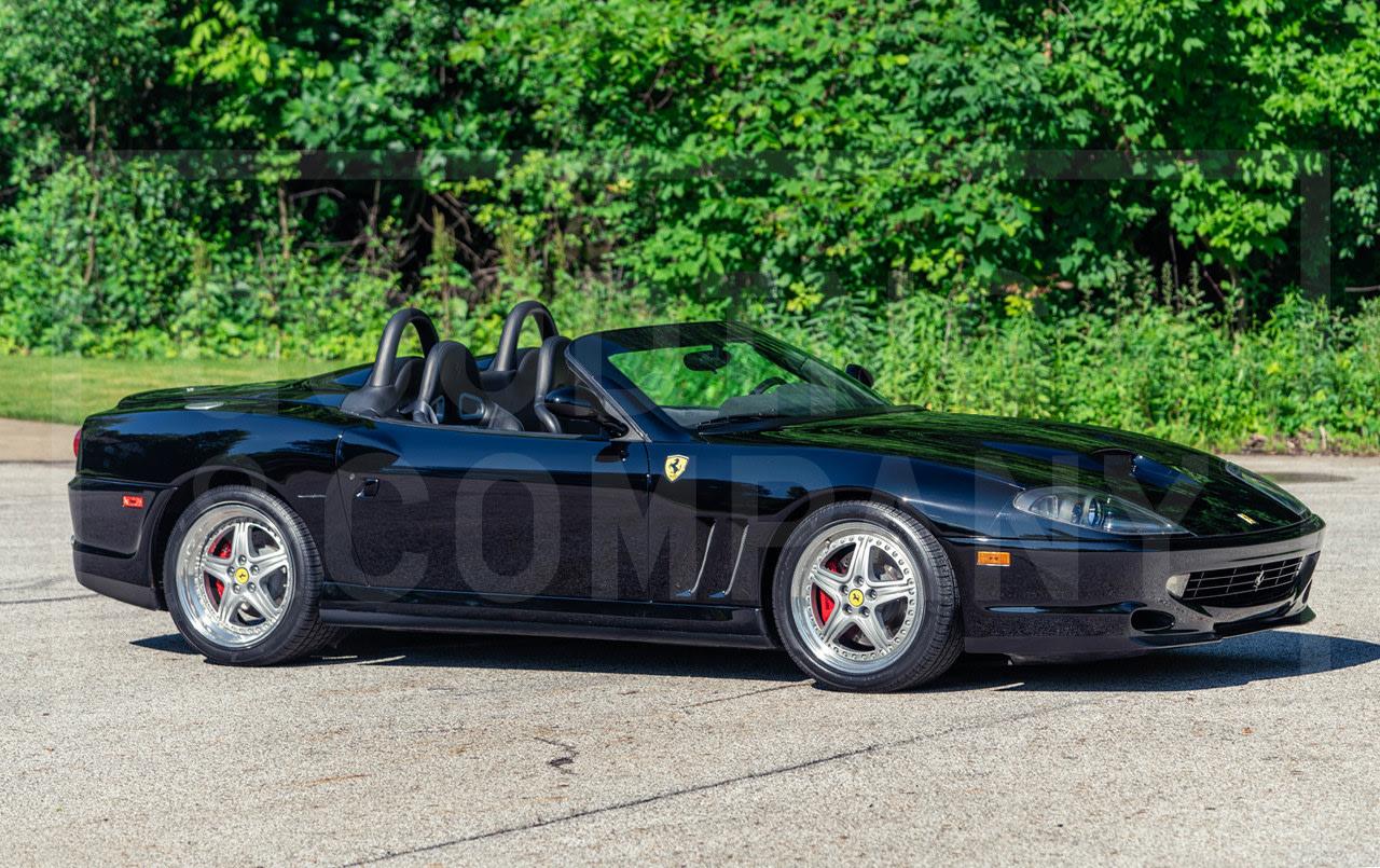 2001 Ferrari 550 Barchetta-2