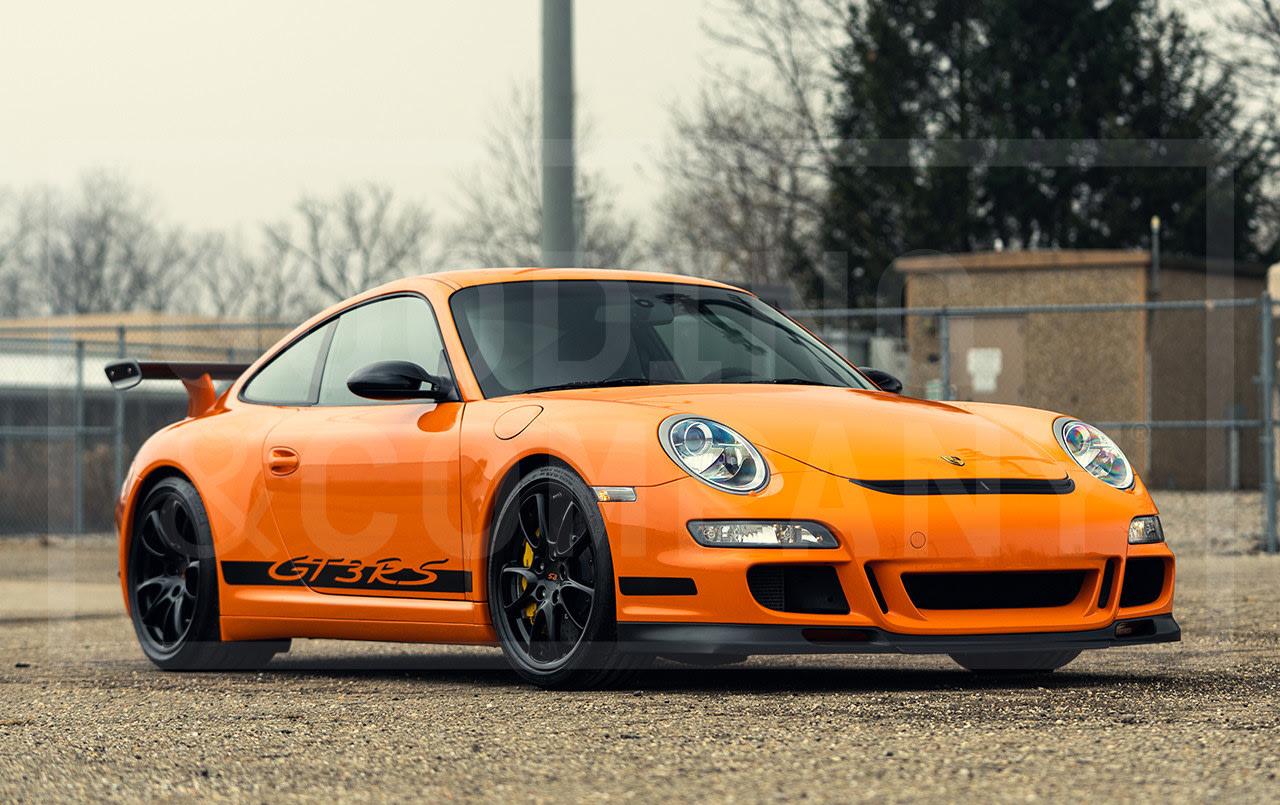 2008 Porsche 997 GT3 RS 3.6