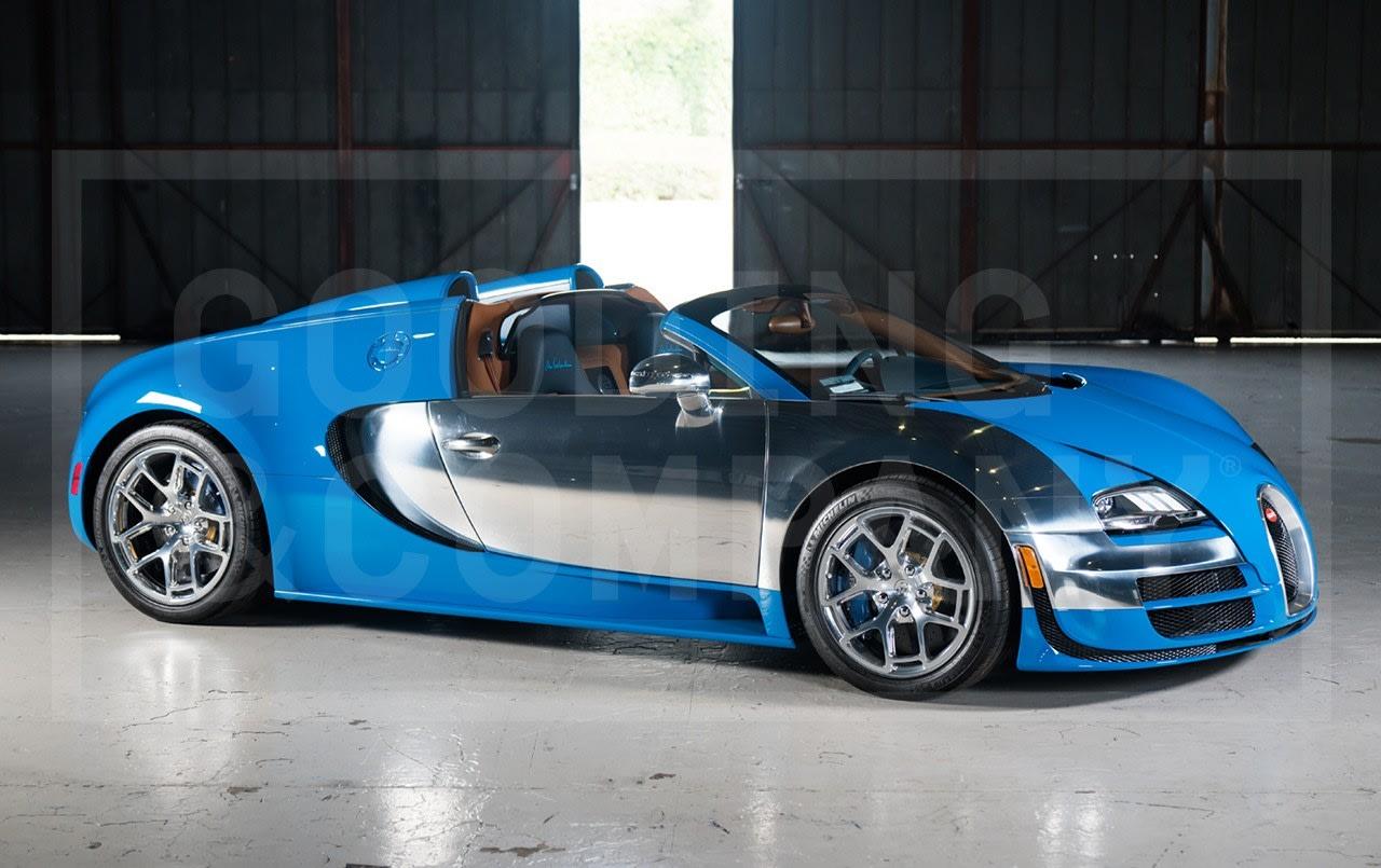 2014 Bugatti Veyron Grand Sport Vitesse
