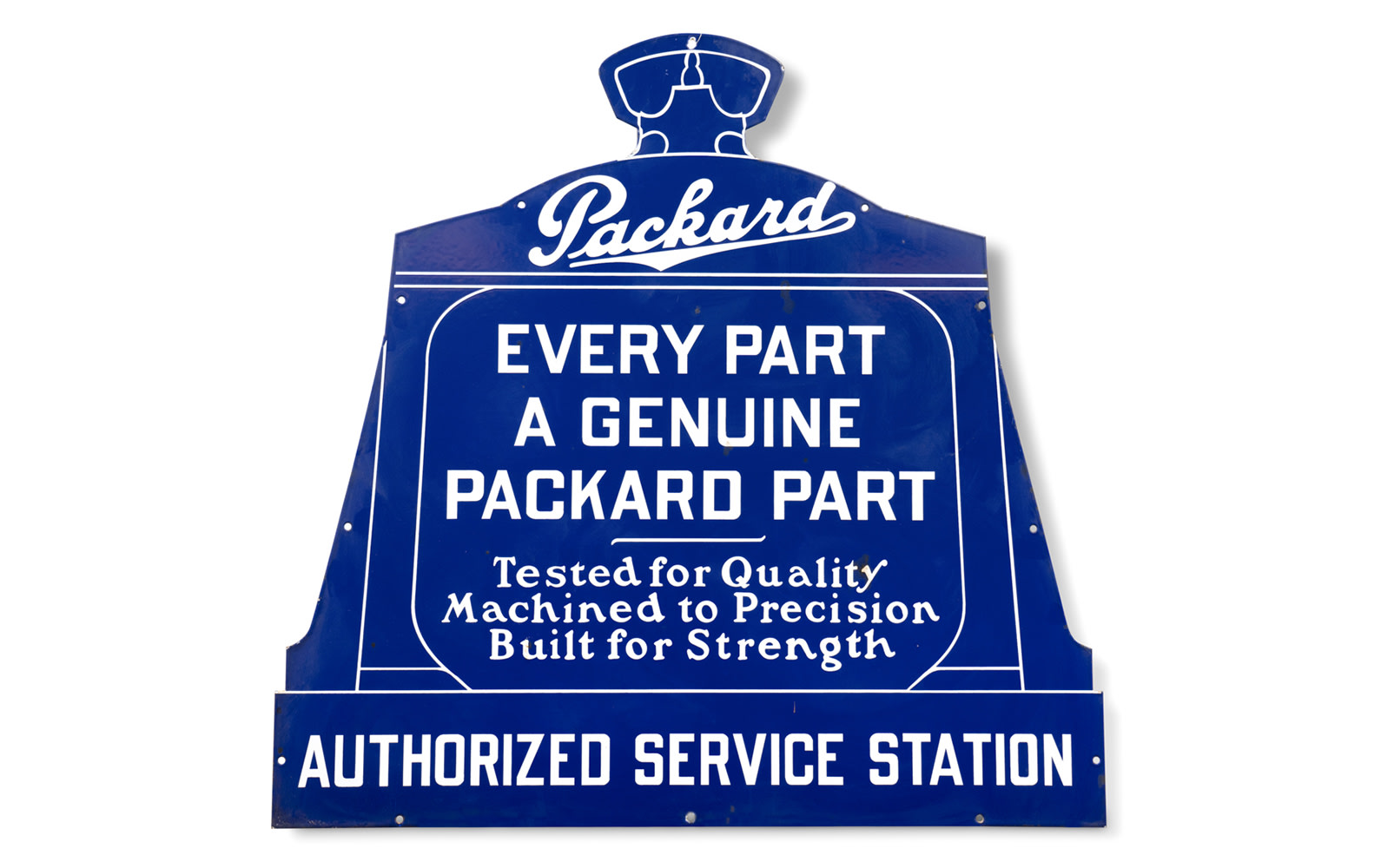 Packard Authorized Service Station Sign