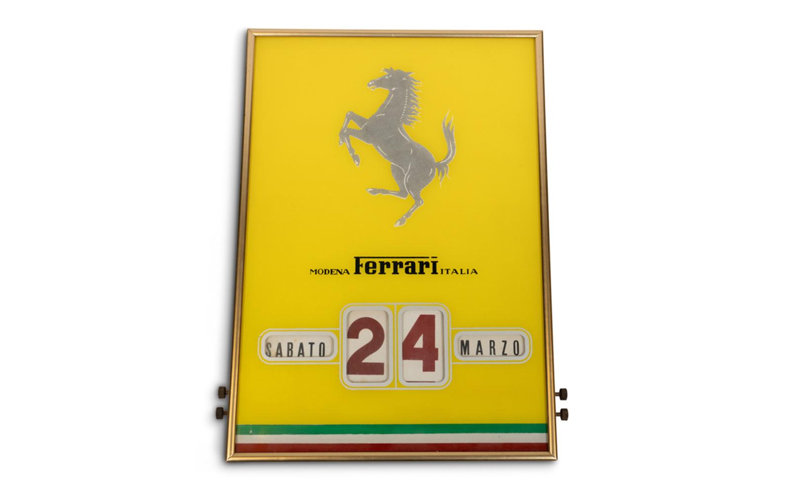 Ferrari Perpetual Calendar, c. 1950s