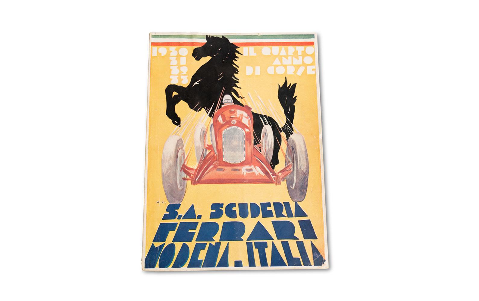 Il Quarto Anno Di Corse, Scuderia Ferrari Yearbook, 1933