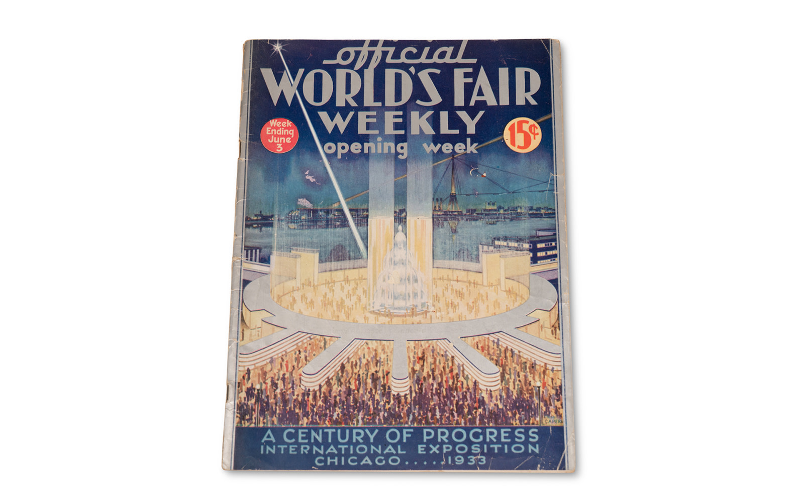 Opening Week Issue of World's Fair Weekly Magazine, 1933