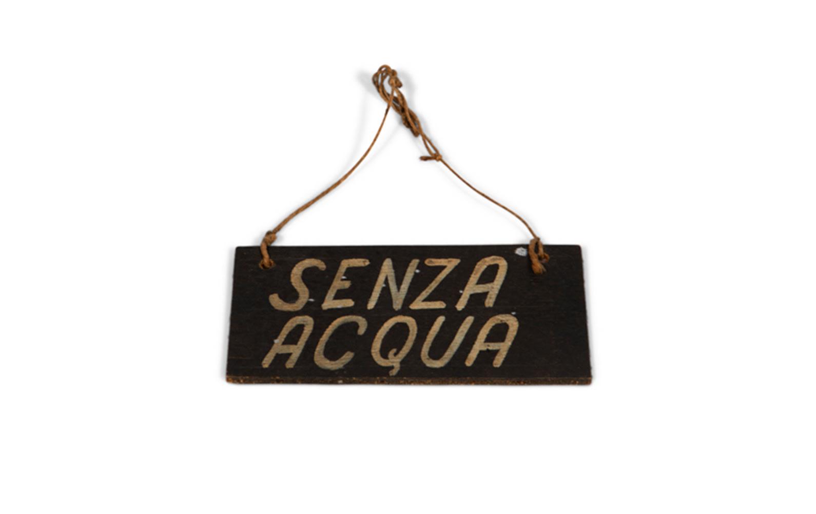 Scuderia Ferrari Shipping Tag with String, c. 1959
