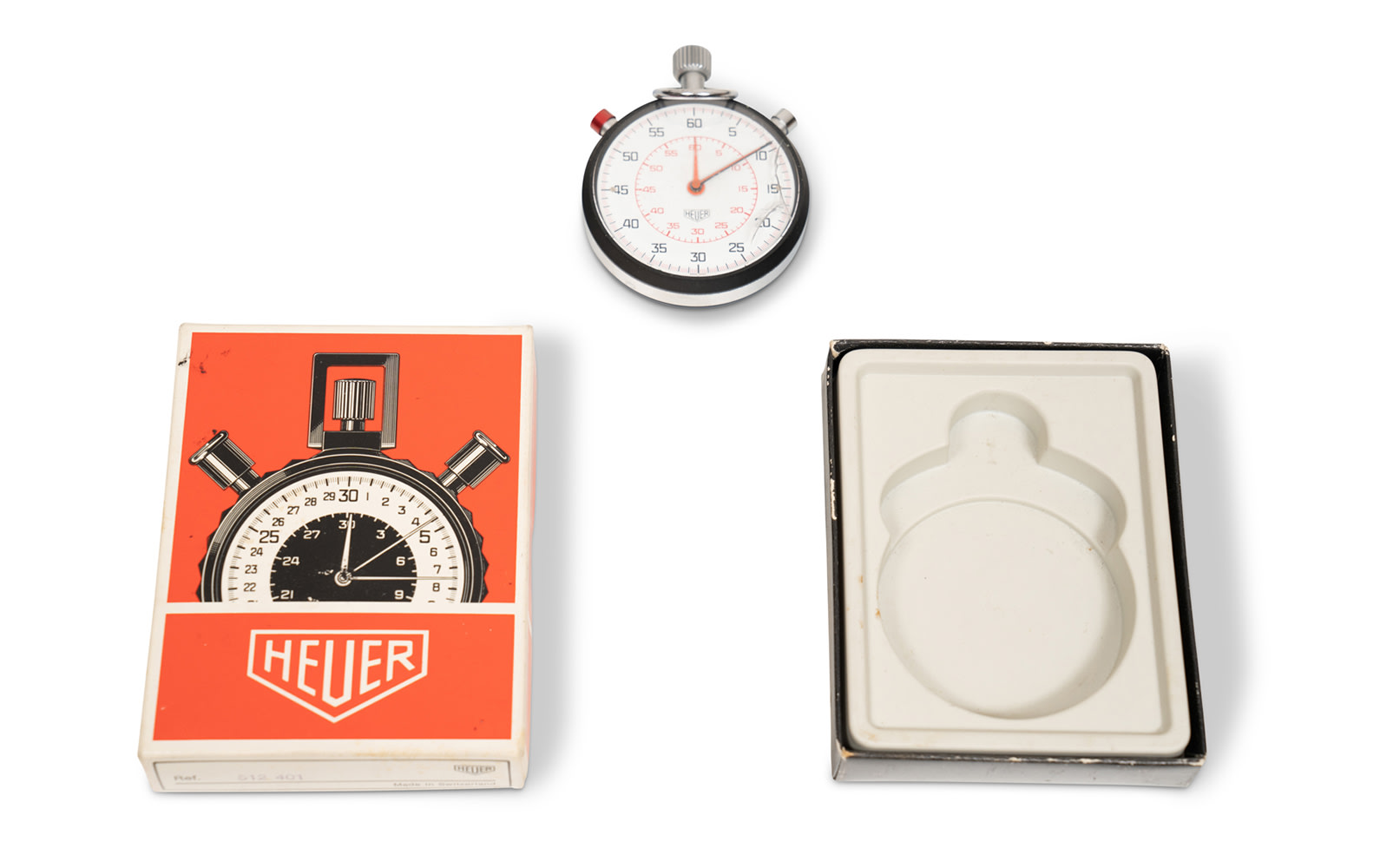 Heuer Stopwatch, Ref. 512 401