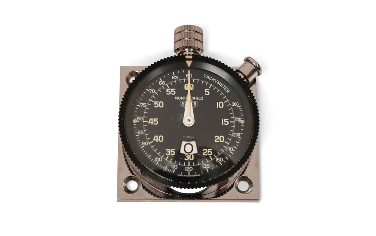 Heuer Monte-Carlo Stopwatch, Ref. 542.701 8487