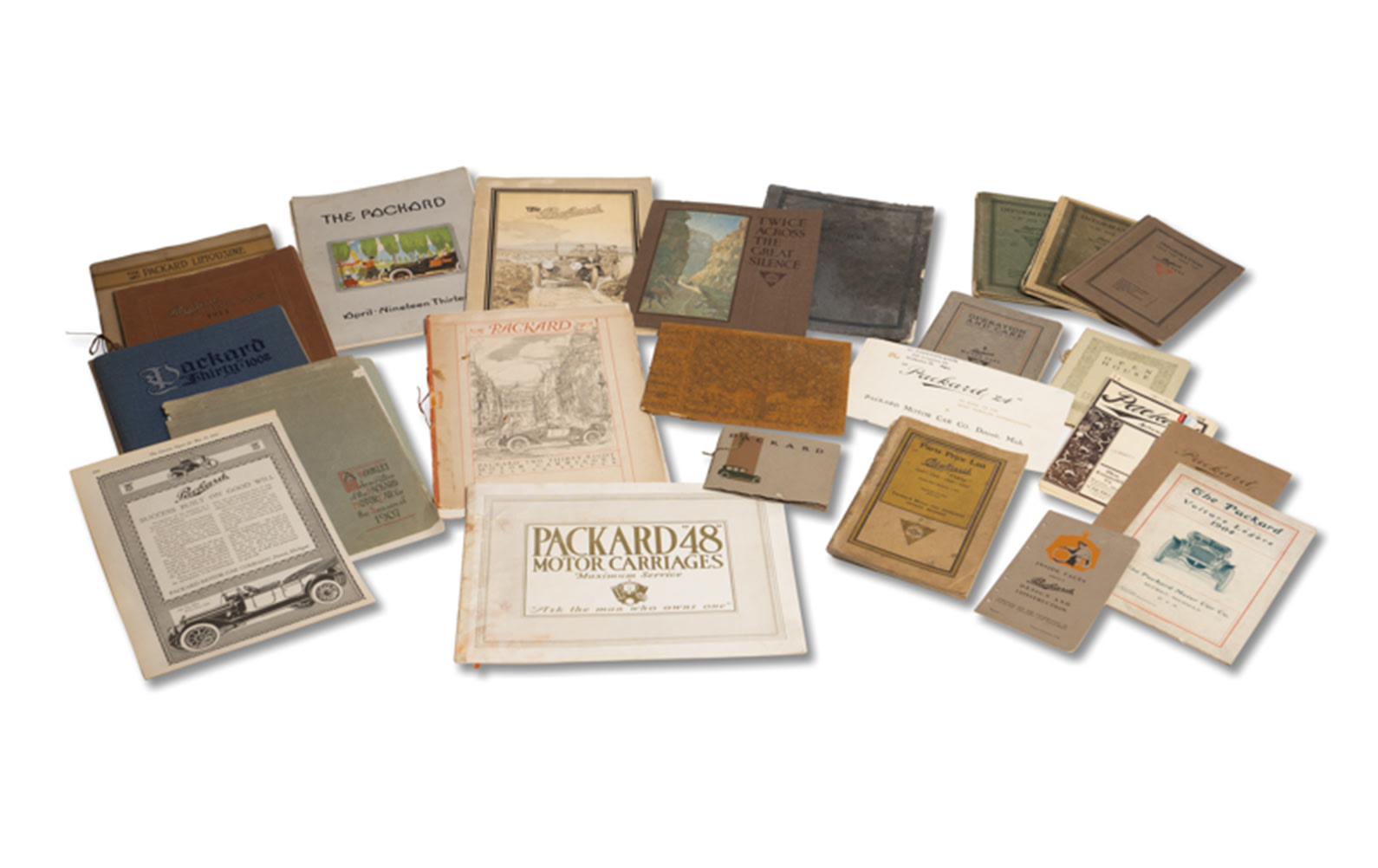 Assorted Packard Sales Literature, c. 1901–1915