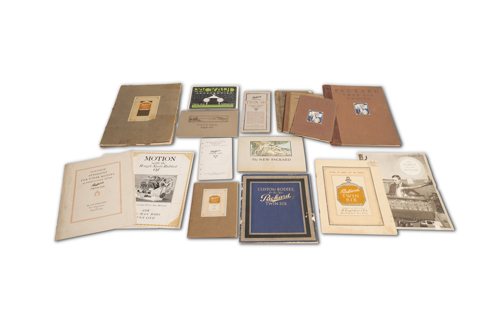 Assorted Packard Sales Literature, c. 1918–1923