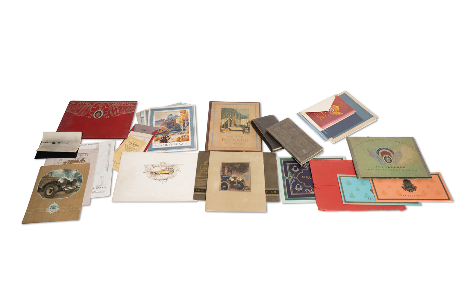 Assorted Packard Sales Literature, c. mid-1920s to early-1930s
