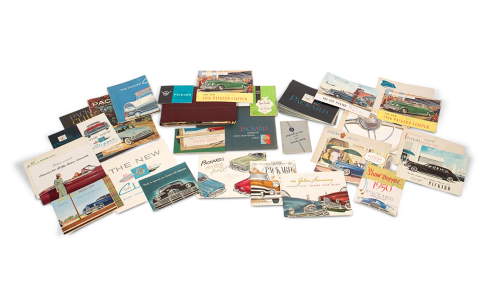 Assorted Packard Sales Literature, Postwar