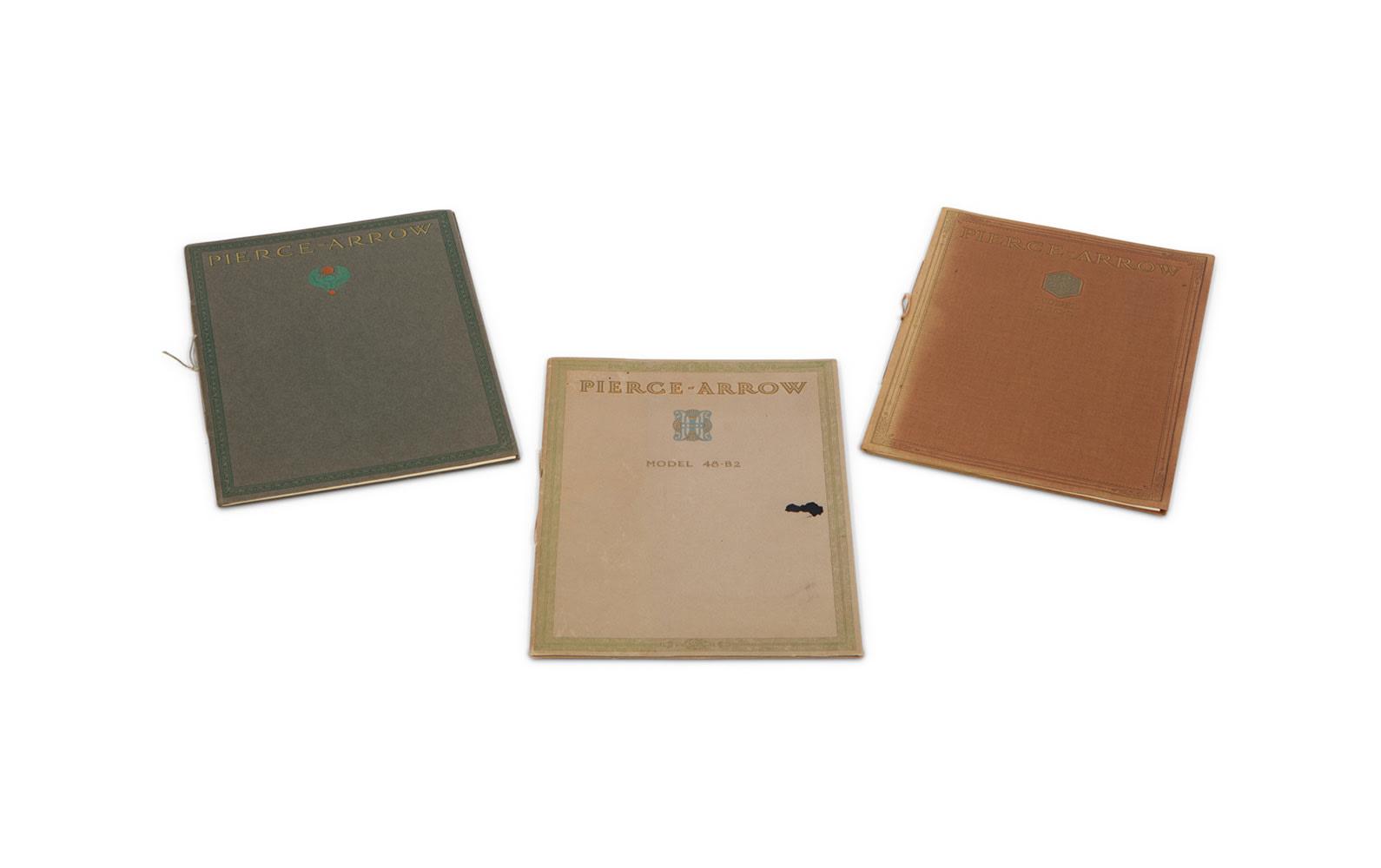 Pierce-Arrow Sales Brochures for Model 38 and Model 48, 1912–1914