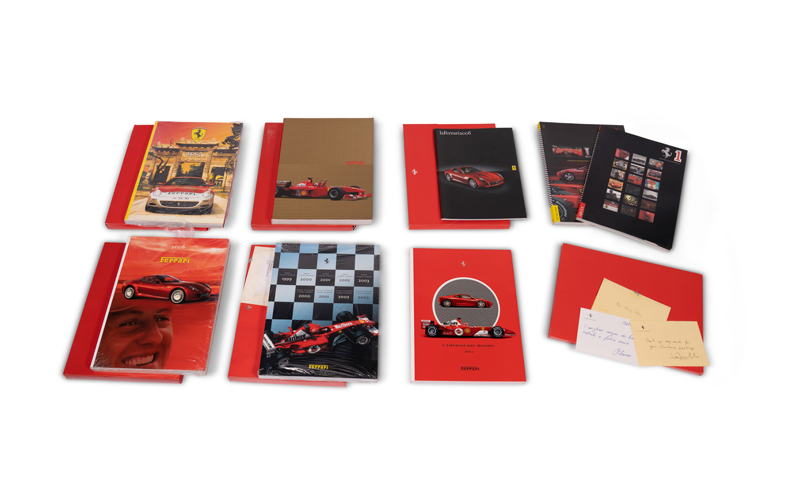 Collection of Ferrari Yearbooks, 2000–2007